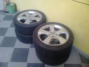 Nesprávné skladování pneumatik - pneuservis Praha Perfekt