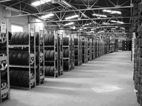 Uskladnění pneumatik - pneuservis Praha